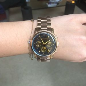 MICHAEL KORS Rose Gold Watch NWT